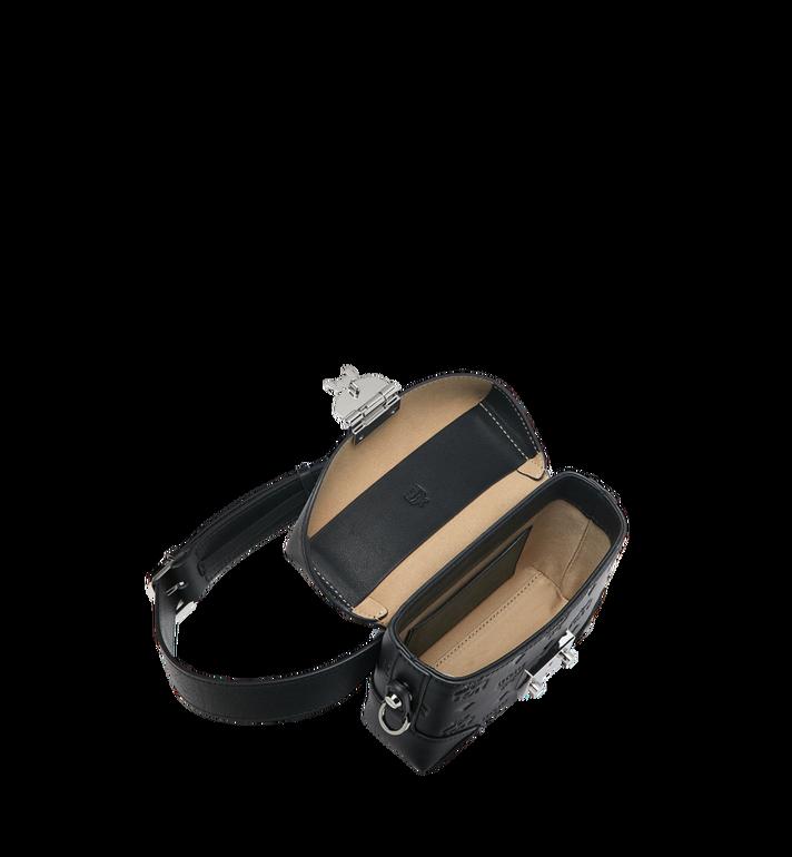 MCM Soft Berlin Belt Bag in Monogram Leather Black MWZ9SBF26BK001 Alternate View 5