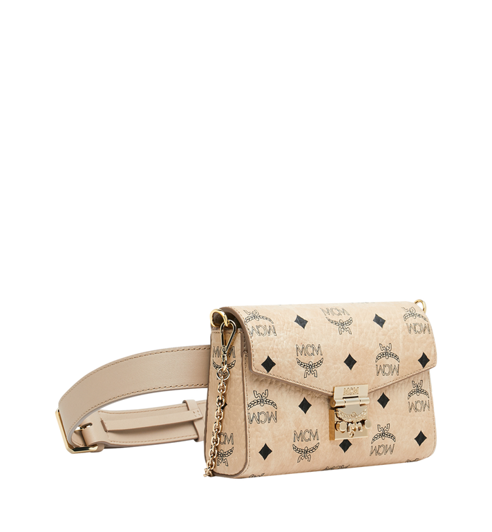 MCM Patricia Belt Bag in Visetos Alternate View 2