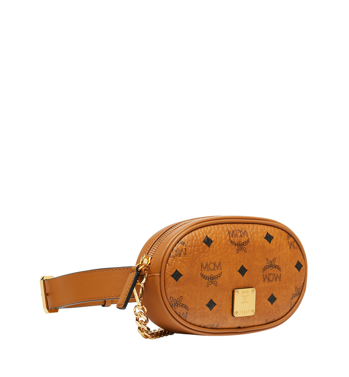 MCM Essential Belt Bag in Original Visetos Cognac MWZ9SSE09CO001 Alternate View 2
