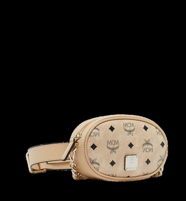 MCM Essential Belt Bag in Original Visetos Beige MWZ9SSE09IG001 Alternate View 2