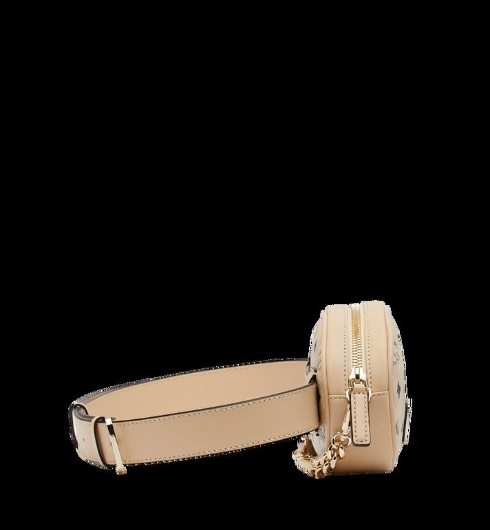 MCM Essential Belt Bag in Original Visetos Beige MWZ9SSE09IG001 Alternate View 3