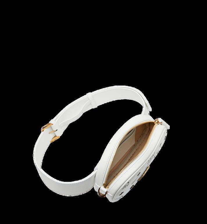 MCM Essential Belt Bag in Original Visetos White MWZ9SSE09WT001 Alternate View 5