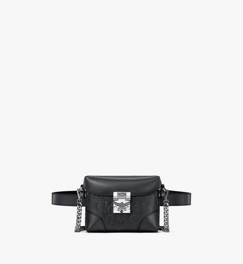 Pochette de ceinture Soft Berlin en cuir monogrammé MCM