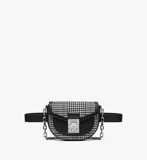 Patricia Belt Bag in Wool Leather Mix