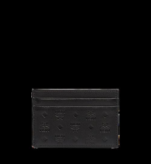 Sigmund Card Case in Monogram Leather