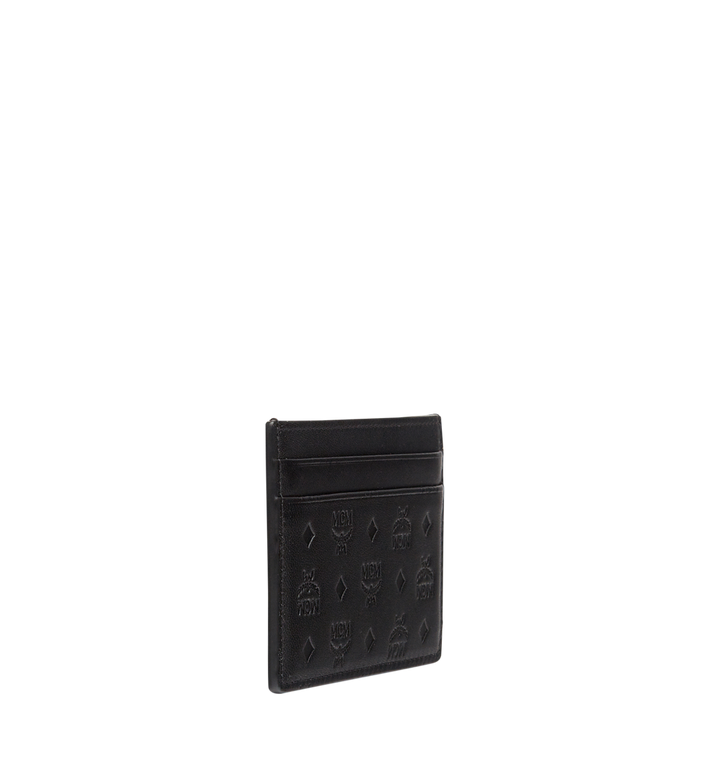 MCM Porte-cartes Sigmund en cuir monogrammé Alternate View 2