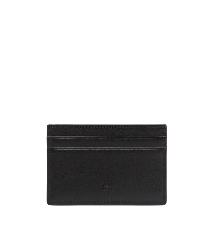 MCM Sigmund Card Case in Monogram Leather Alternate View 3