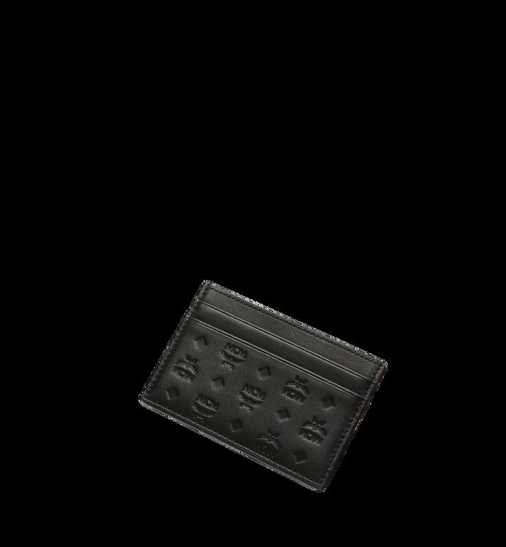 MCM Porte-cartes Sigmund en cuir monogrammé Alternate View 4