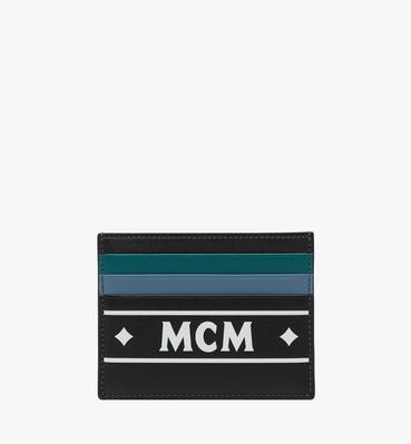 Card Case in Coburg Logo Stripe