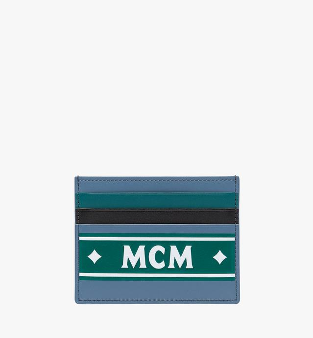 Card Case in Coburg Logo Stripe