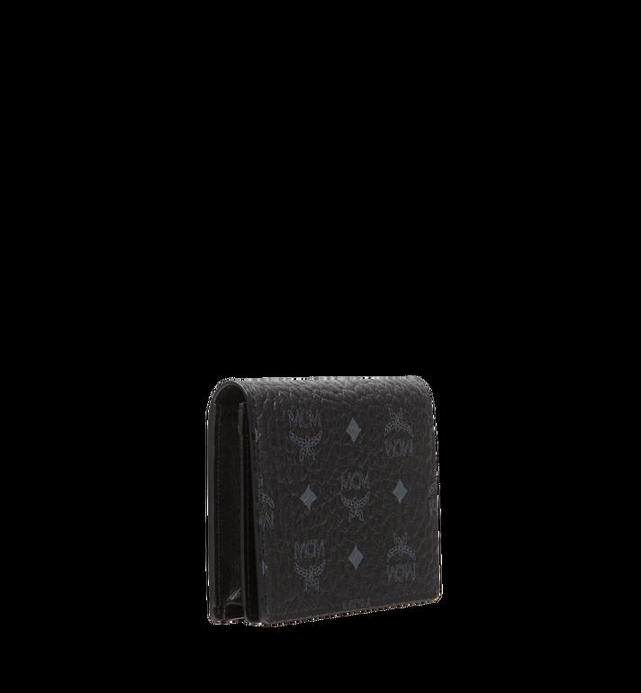 MCM Claus Card Case in Visetos Black MXA8SVI20BK001 Alternate View 2