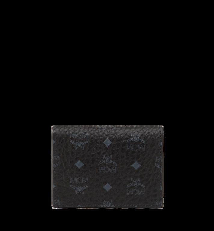 MCM Claus Card Case in Visetos Black MXA8SVI20BK001 Alternate View 3