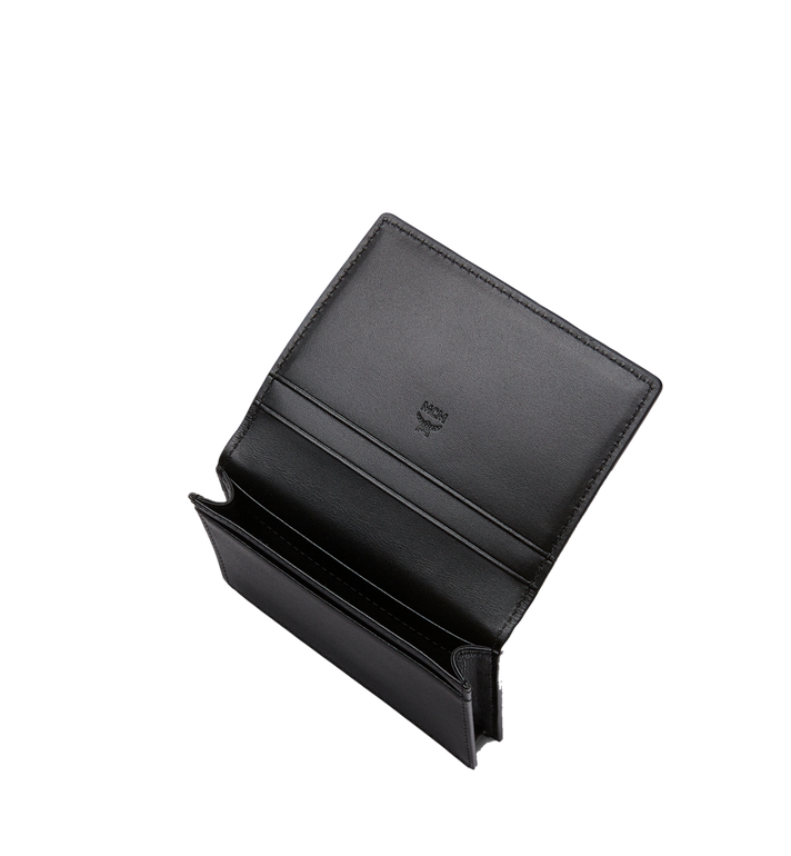 MCM Claus Card Case in Visetos Black MXA8SVI20BK001 Alternate View 4