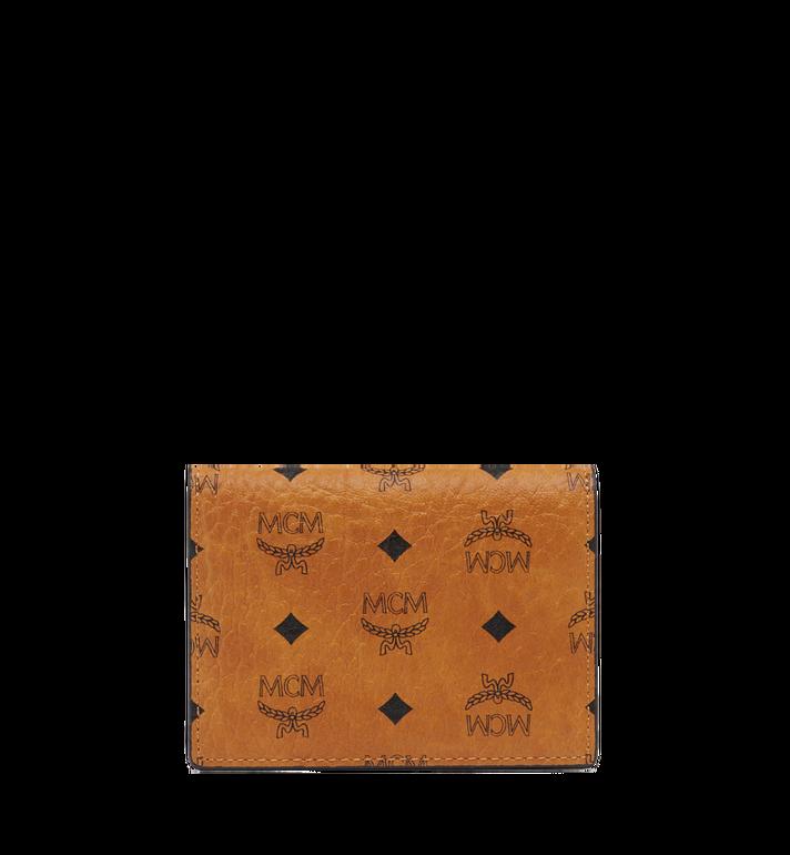 MCM Claus Card Case in Visetos Alternate View