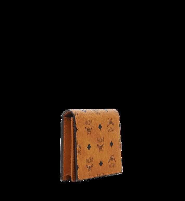 MCM Claus Card Case in Visetos Cognac MXA8SVI20CO001 Alternate View 2
