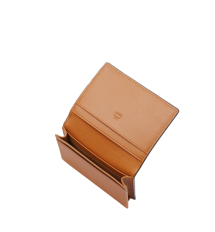 MCM Claus Card Case in Visetos Cognac MXA8SVI20CO001 Alternate View 4