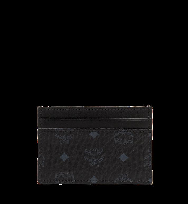 MCM Card Case in Visetos Original Black MXA8SVI26BK001 Alternate View 3