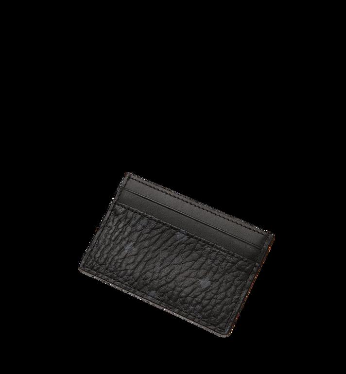 MCM ซองใส่บัตรลาย Visetos Original Black MXA8SVI26BK001 Alternate View 4