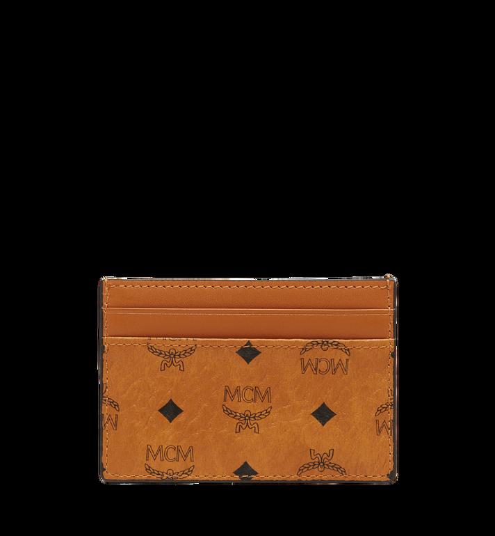 MCM Porte-cartes Claus en Visetos Cognac MXA8SVI26CO001 Alternate View 3