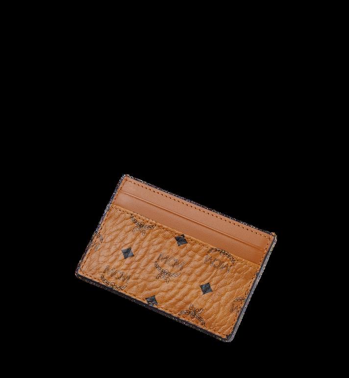 MCM Porte-cartes Claus en Visetos Cognac MXA8SVI26CO001 Alternate View 4