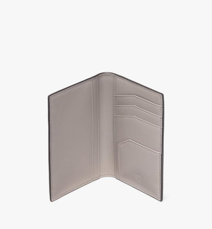 MCM Coburg Two-Fold Wallet in Crossgrain Leather Black MXA9ACE14BK001 Alternate View 3