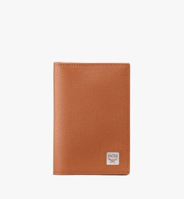 Coburg Two-Fold Wallet in Crossgrain Leather