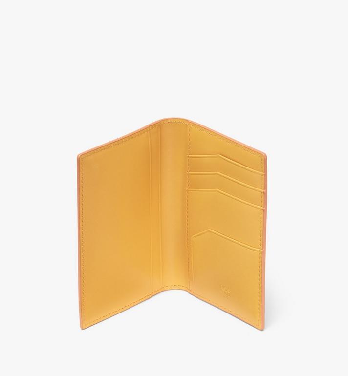 MCM Coburg Two-Fold Wallet in Crossgrain Leather Cognac MXA9ACE14CO001 Alternate View 3