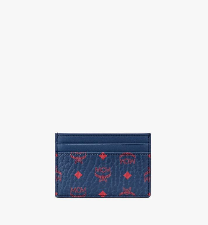 MCM Card Holder in Visetos Alternate View