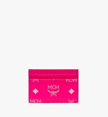 MCM Card Case in Visetos Alternate View 2