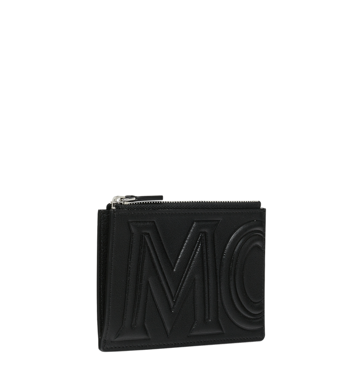 MCM Coin Card Wallet in MCM Injection Logo Black MXA9SCL04BK001 Alternate View 2