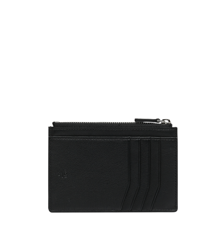MCM Coin Card Wallet in MCM Injection Logo Black MXA9SCL04BK001 Alternate View 3