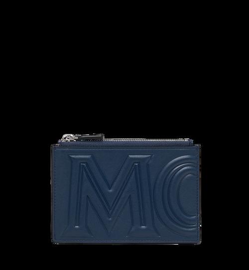 MCM注射標誌零錢卡包
