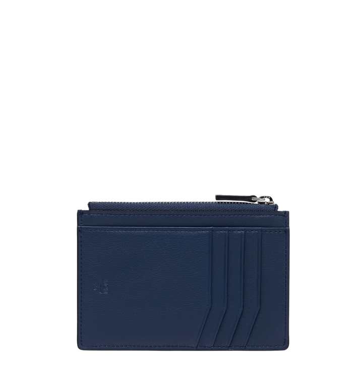 MCM Coin Card Wallet in MCM Injection Logo Navy MXA9SCL04VA001 Alternate View 3