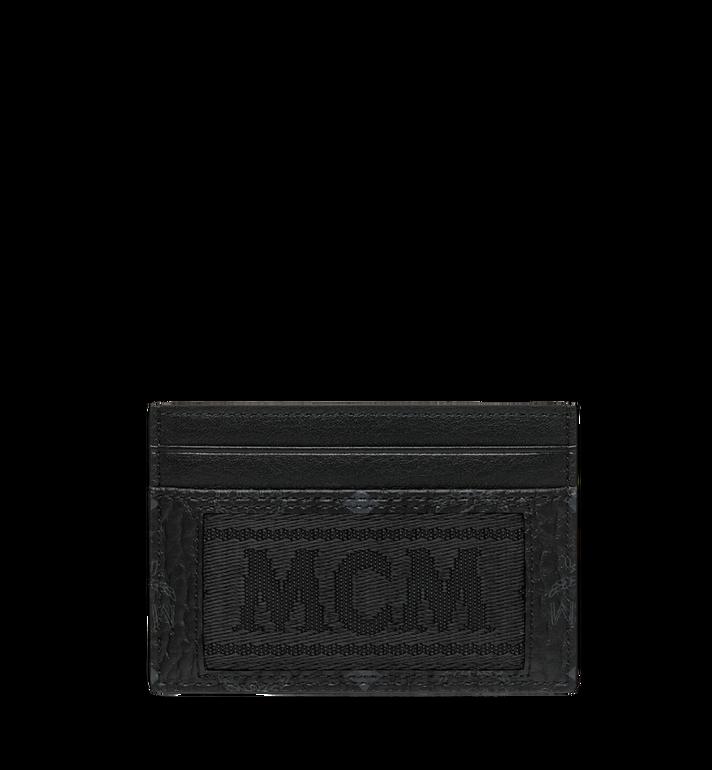 MCM Kartenetui aus Webbing Visetos Alternate View