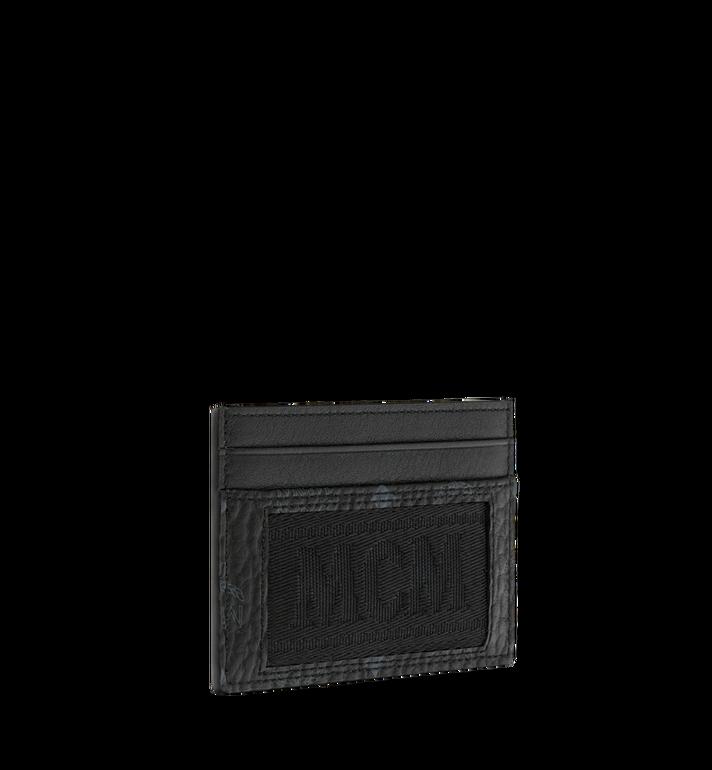 MCM Kartenetui aus Webbing Visetos Black MXA9SVI92BK001 Alternate View 2