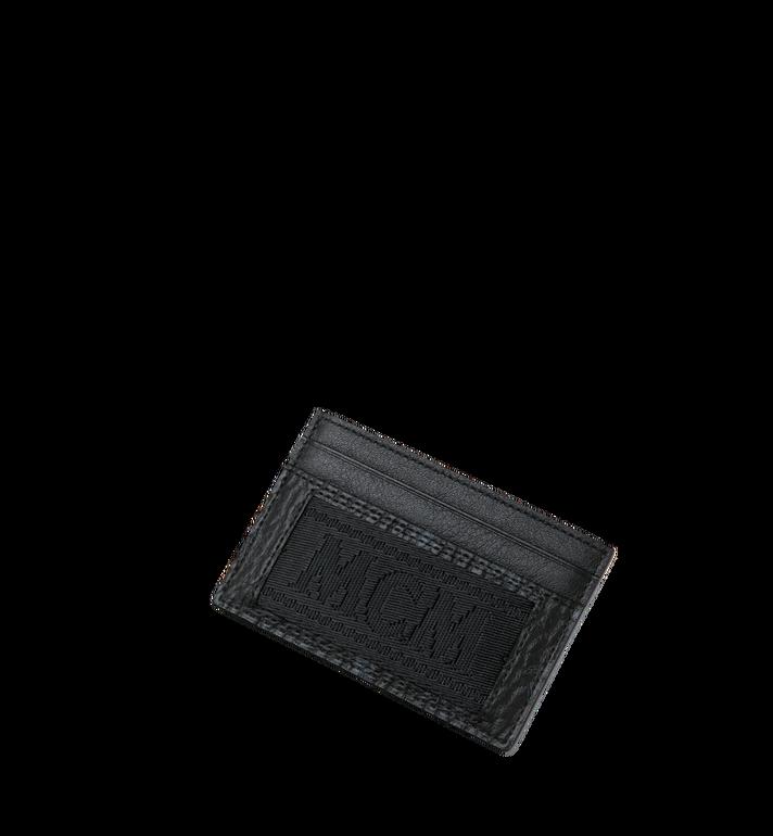 MCM Kartenetui aus Webbing Visetos Black MXA9SVI92BK001 Alternate View 4