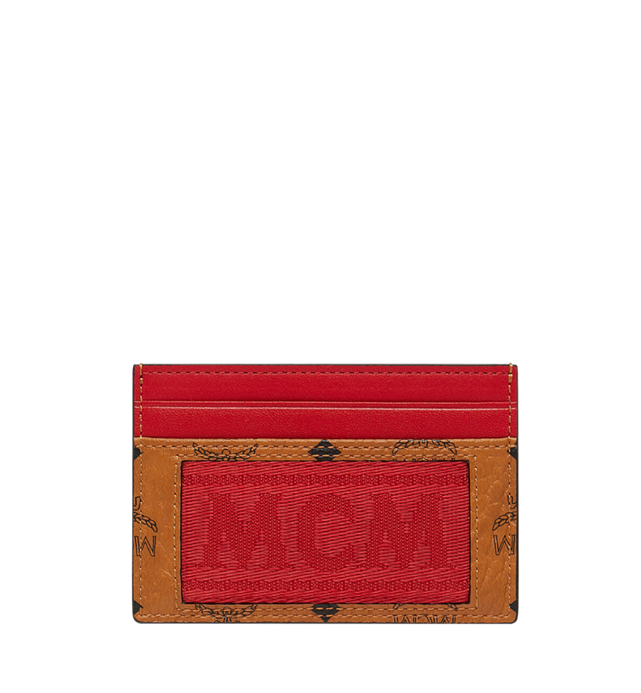 MCM Card Case in Webbing Visetos Alternate View