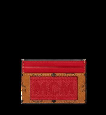 MCM Porte-cartes en Webbing Visetos Alternate View