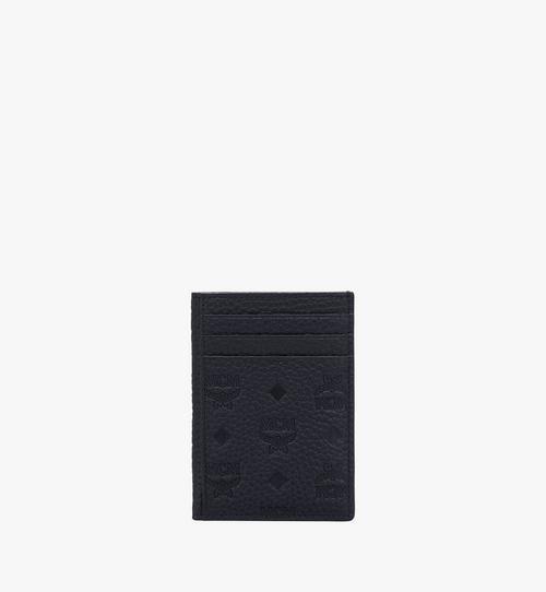 Tivitat 縮寫字母圖案皮革 N/S 卡片夾