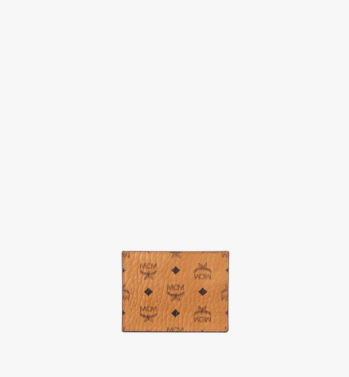 MCM Card Case in Visetos Original Cognac MXAAAVI02CO001 Alternate View 3