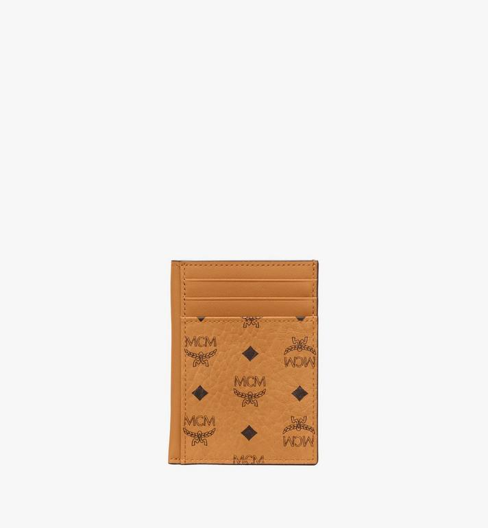 MCM N/S Card Case in Visetos Original Alternate View