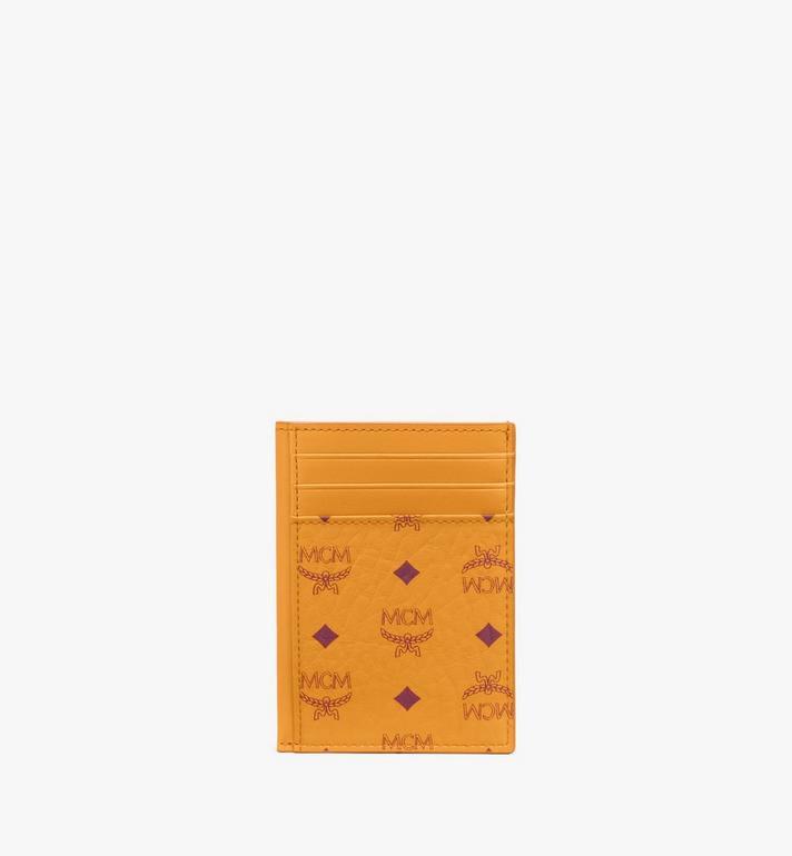 MCM N/S Card Case in Visetos Original Alternate View