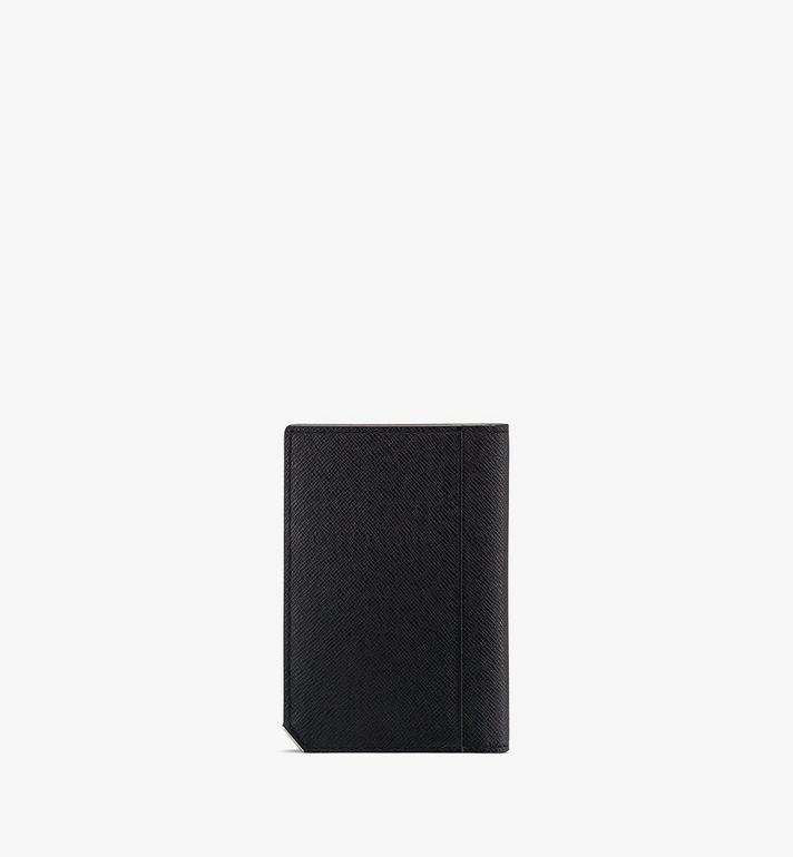 MCM กระเป๋าใส่บัตรพับสองทบ New Bric Black MXAASLL03BK001 Alternate View 2