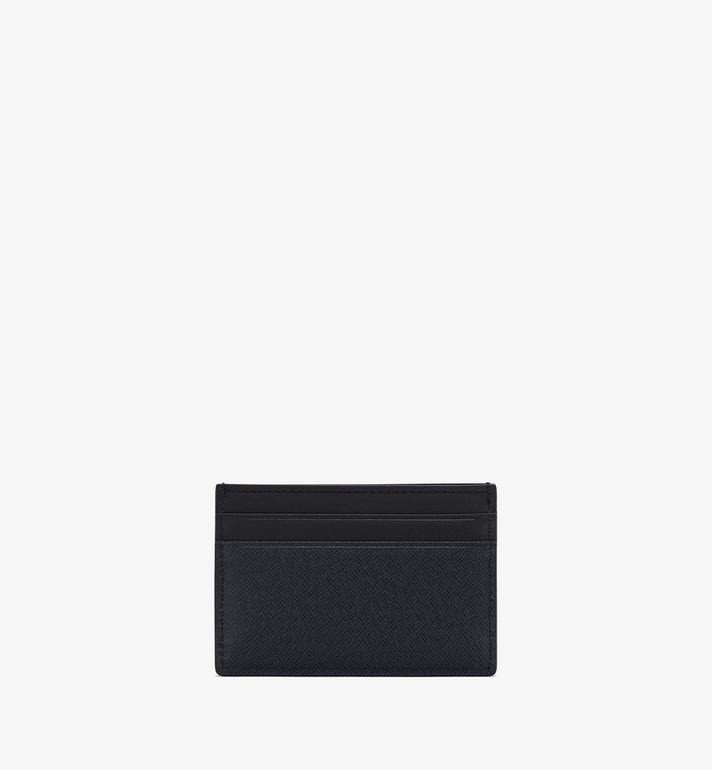 MCM New Bric Card Case Navy MXAASLL04VY001 Alternate View 2