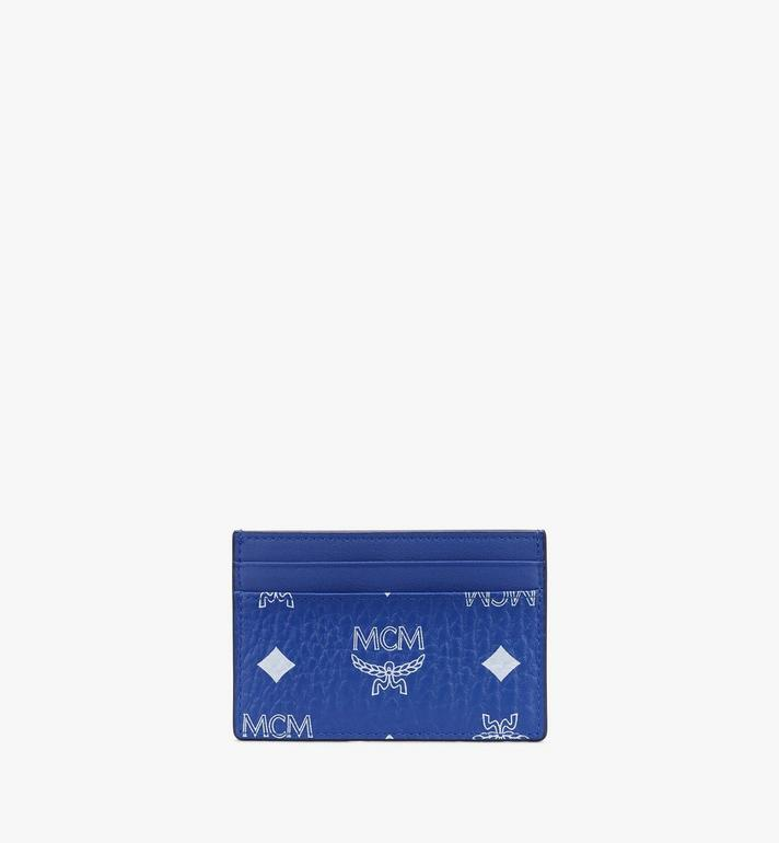 MCM Card Case in Visetos Alternate View