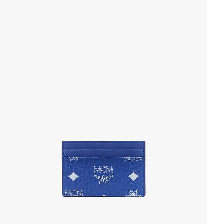 MCM Visetos 系列的 Claus 卡片夾 Blue MXAASVI01H1001 Alternate View 2