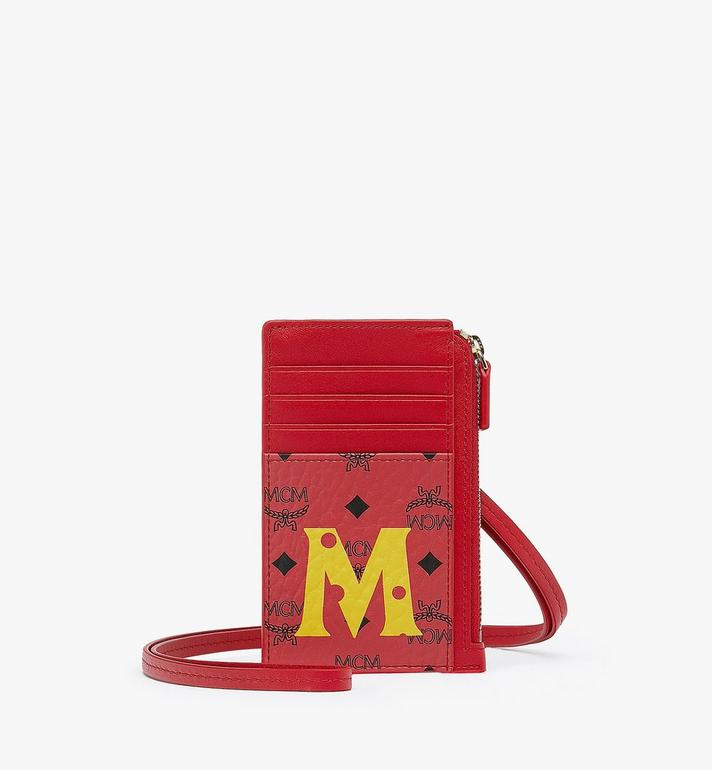 MCM Year Of The Mouse Lanyard Card Holder Alternate View