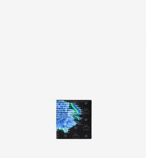 Porte-cartes à deux volets en Visetos Tech Flower