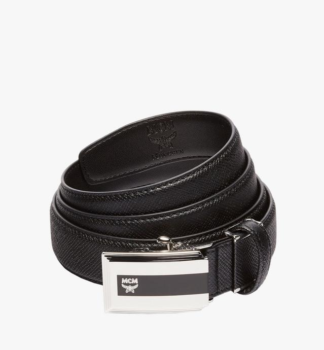 "Dress Belt 1"" in Embossed Leather"