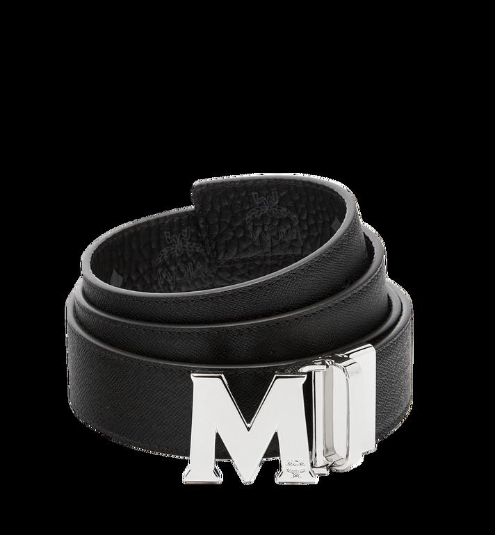 MCM เข็มขัดใส่ได้สองด้าน Claus M ขนาด 1.5 นิ้ว ลาย Visetos Black MXB6AVI02BK001 Alternate View 2